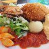 【吹田】エンカッピオでメガ海老クリームコロッケ&パン食べ放題ランチ