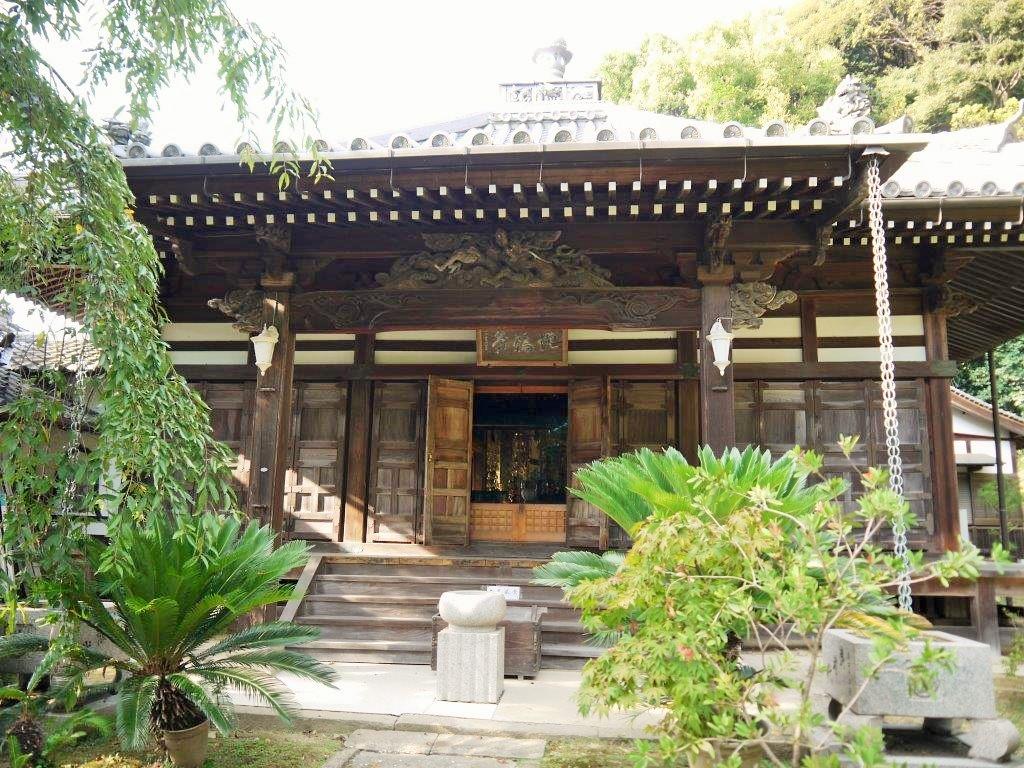 山中渓の地福寺