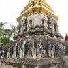 【タイ】象が支えてる!チェンマイ最古の寺院ワット・チェン・マン