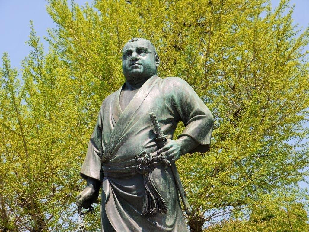 上野公園、西郷隆盛