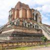 【タイ】まさに巨大遺跡!ワット チェーディ・ルアンの崩壊した仏塔