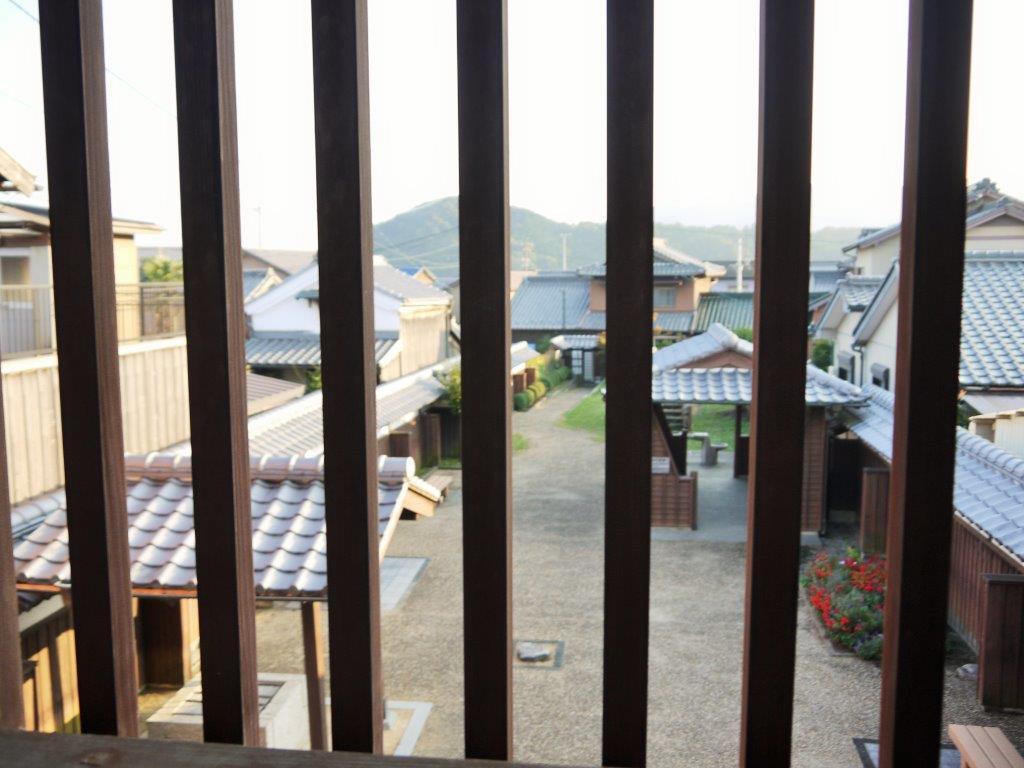 関宿の百六里庭・眺関亭