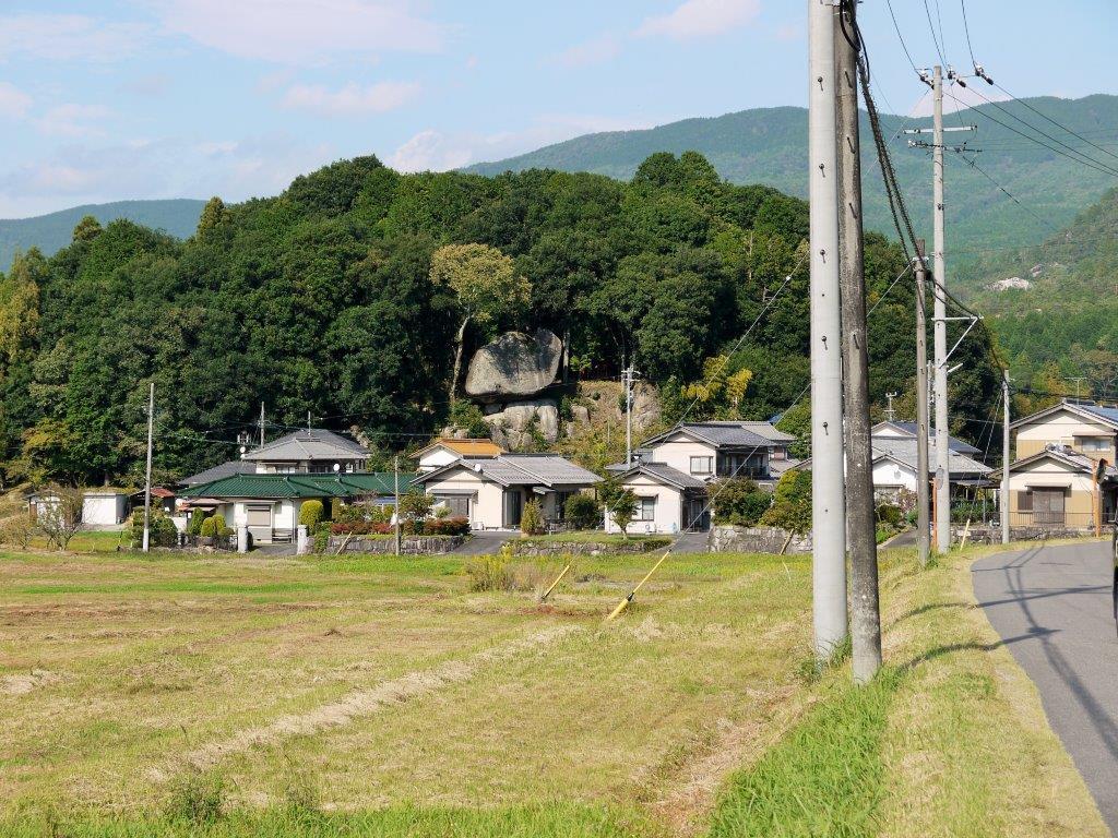 丸山神社のふな岩