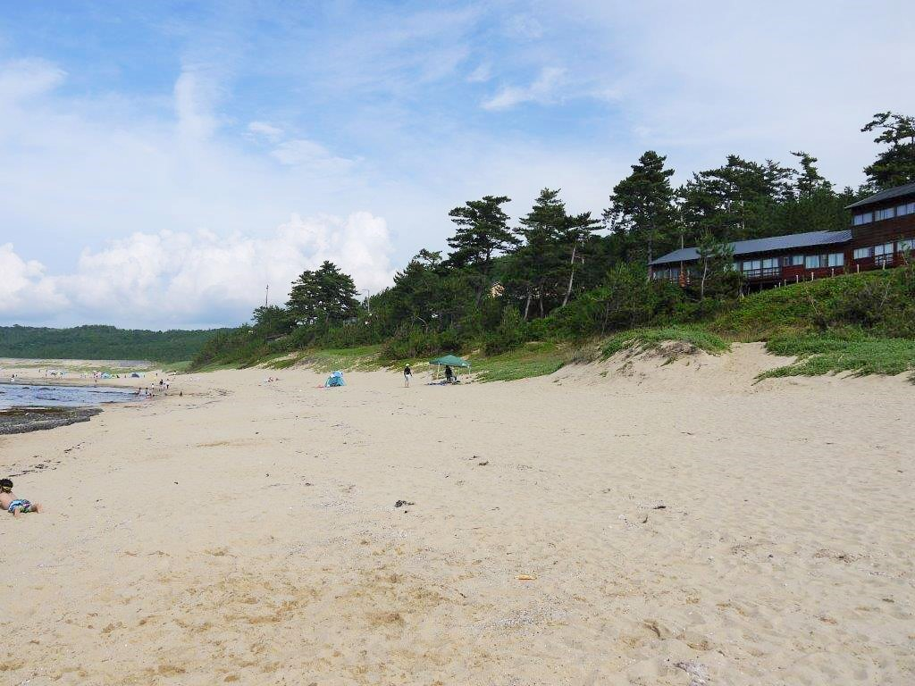 琴引浜、海水浴場