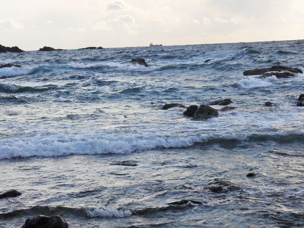 潮岬の見える展望台
