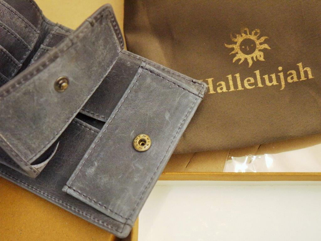 紳士、財布、ハレルヤ
