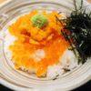 【大阪】生しらす丼で人気の岸和田「きんちゃく家」の痛風丼