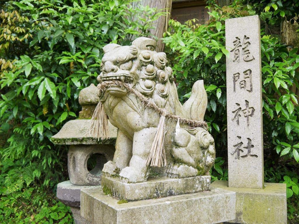 龍間神社、大東市