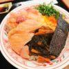 【大阪】阪神百貨店スナックパークで安くて超うまい!下品な魚屋丼