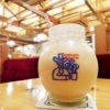 【東大阪】コメダ珈琲店で可愛い丸い器のミックスジュース