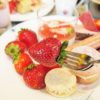 贅沢な時間を!インターコンチネンタルホテル大阪、いちごブッフェ